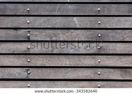 black wood barn plank rough grain surface background - stock photo