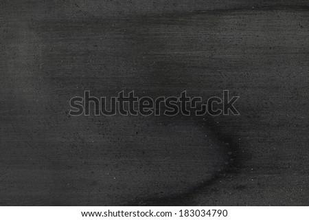 Black wood polish - stock photo