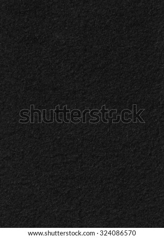 black wool texture - stock photo