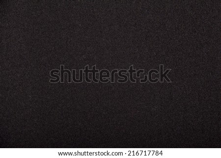 Black wool which is perfect for background - stock photo