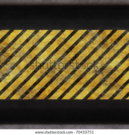 Black yellow protective surface close up .