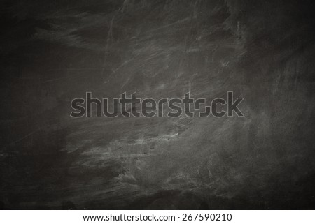 blackboard and free space for your decoration  - stock photo
