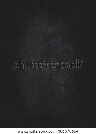 blackboard background for writing with chalk, vertical - stock photo