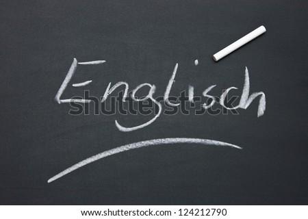 blackboard in a school - stock photo