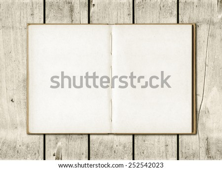 Blackboard on a old white wood wall background texture