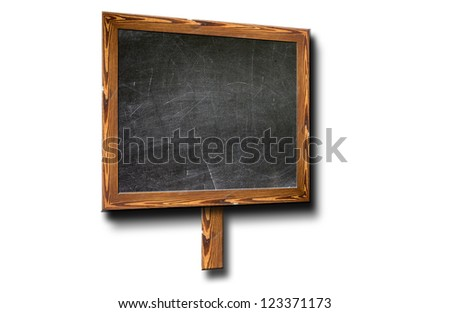 Blackboard with Copy Space to add your own text.