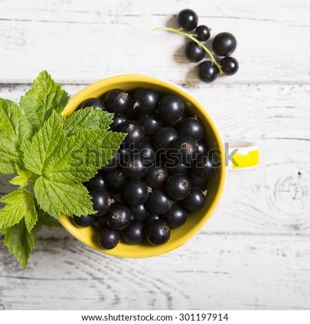 blackcurrant - stock photo