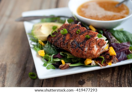 Blackened Mahi Summer Salad