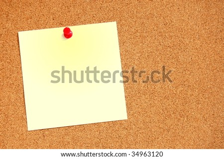 blank and empty sheet of paper with copyspace for text message - stock photo