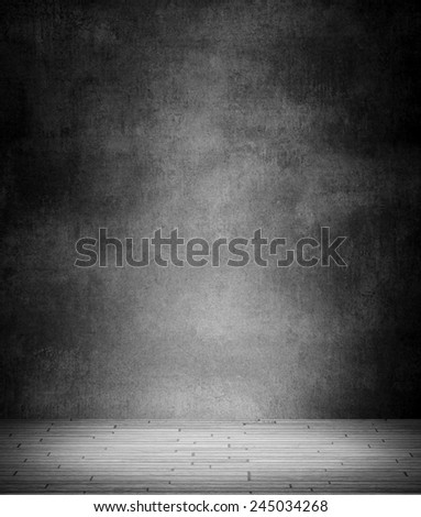 Blank background room. Place for advertisement text