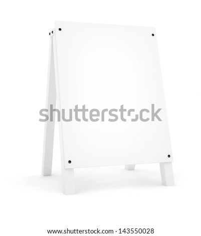 Blank banner - stock photo