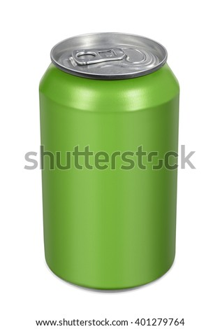 Blank beverage drink tin can