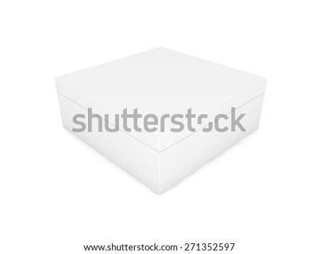 blank black boxes isolated on white background