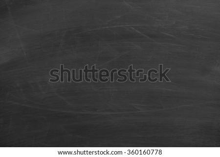 Blank blackboard background with some slight chalk texture. - stock photo
