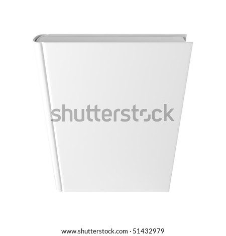 Blank book - stock photo