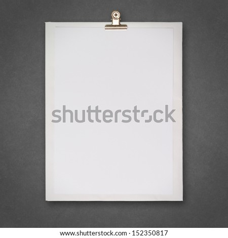 blank book and wrinkled paper background  as concept
