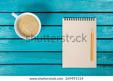 Blank, booklet, book. - stock photo
