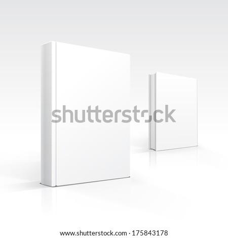 Blank Books - stock photo