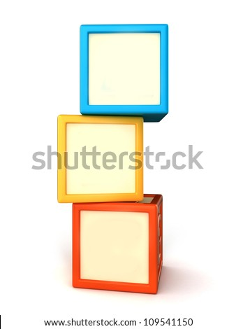 Blank building blocks