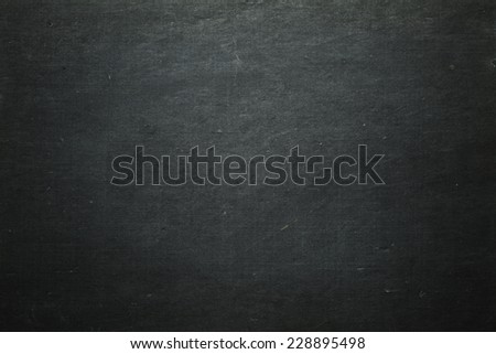 Blank chalkboard - stock photo
