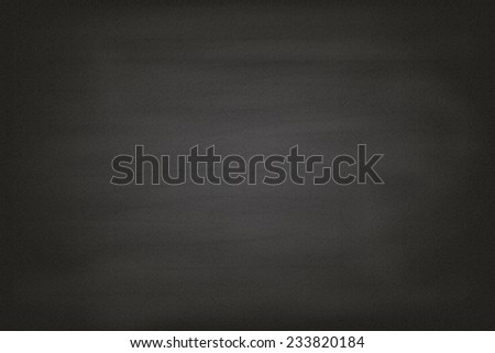 Blank chalkboard blackboard - stock photo