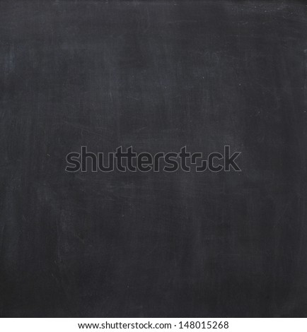Blank chalkboard, blackboard texture background. - stock photo