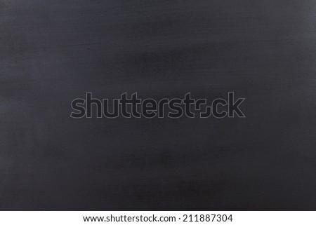 Blank chalkboard. Blank dark vintage background - stock photo