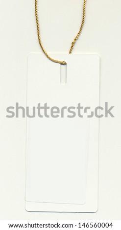 blank Clothes trademark - stock photo