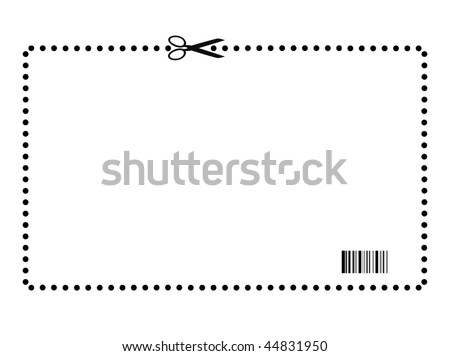 Blank Coupon Stock Images, Royalty-Free Images & Vectors ...