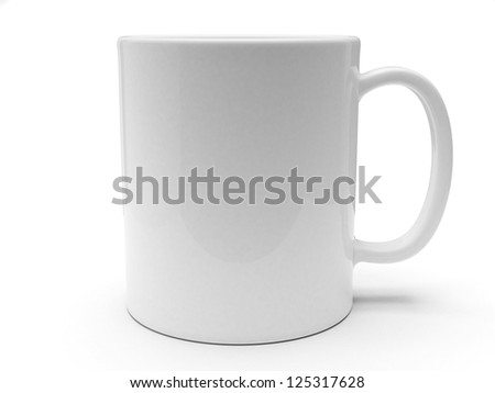 Blank cup for branding