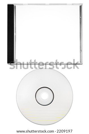Blank Disc with Cover (Path Included)