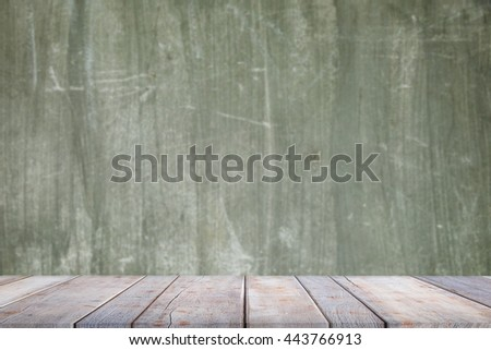 blank empty wall and floor on abstract background of concrete wall texture - For design with copy space for text or product image .