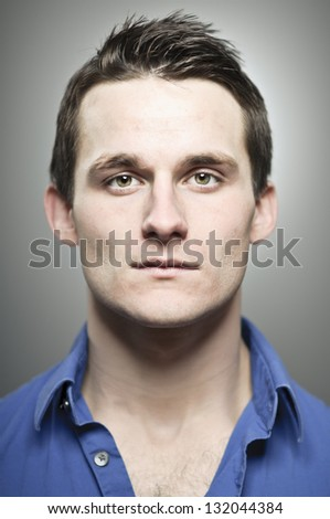 Blank Expression - stock photo