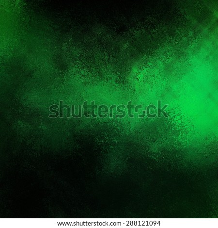blank green and black background textured Christmas design - stock photo