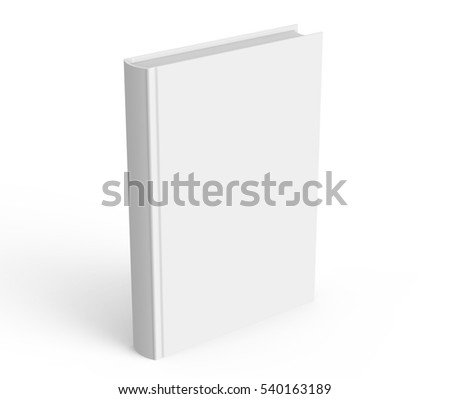 Blank Hard Cover Book Template Blank Stock Illustration 540163189 ...