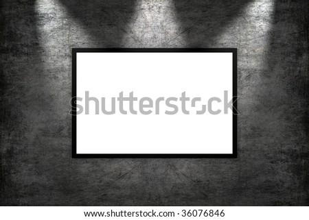Blank image - stock photo