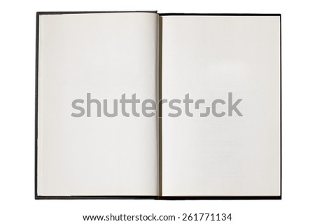 Blank Journal  - stock photo