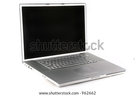 Blank Laptop Computer Screen Studio Fantasy Set (Insert Your Client)