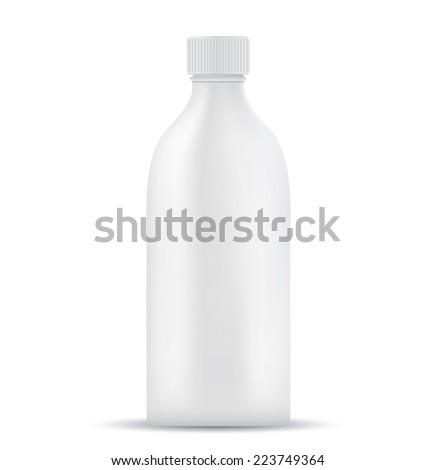 Blank milk or juice pack  - stock photo