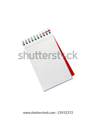 Blank note - stock photo