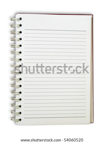 Blank Note Book For write anythings in it