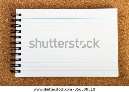 Blank Notebook - stock photo