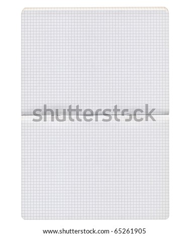 Blank notebook page background