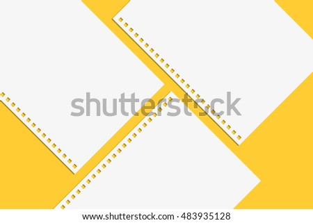 Blank Notebook Paper Spiral Notebook Isolated Photo – Yellow Notebook Paper Background
