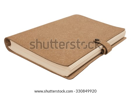 blank notebook with pen and pencil on wooden table, business concept,Notepad for writing,blank diary,notebook a clean,white background,pen and calculator - stock photo