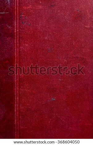 Blank old book cover - stock photo