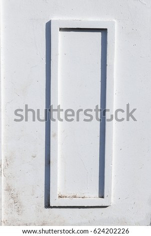 Blank Paper Frames On White Wall Stock Photo 624202226 - Shutterstock