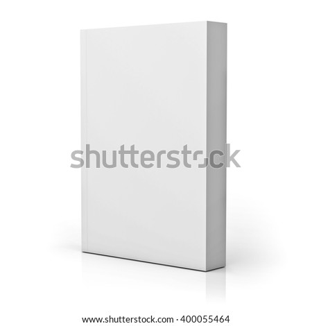 Blank paperback book cover isolated over stock illustration blank paperback book cover isolated over white background with reflection 3d rendering pronofoot35fo Images