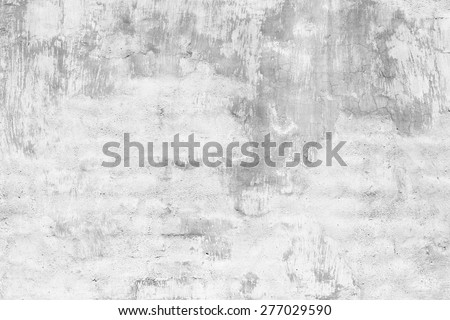 Blank plaster industrial wall from top view - stock photo