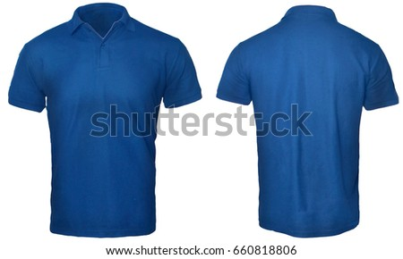 Blank polo shirt mock template front stock photo 660818806 for T shirt mockup front and back